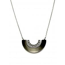 collier rétro - onyx