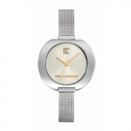 Ted Lapidus - montre acier